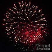 Fireworks Series Ix Art Print