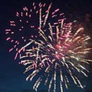Fireworks Series Xiii Art Print