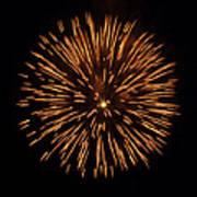 Fireworks Shell Burst Print by Jay Droggitis