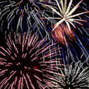 Fireworks Spectacular Art Print