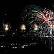 Fireworks Art Print by Stanlerd Rodriguez