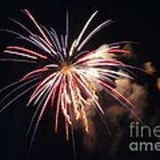 Fireworks Twenty Eleven II Art Print