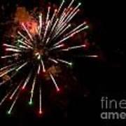 Fireworks2 Art Print