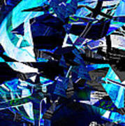 Firmament Cracked #9 - All Which Once Was Beautiful Art Print