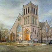 First Avenue Presbyterian Church  Art Print