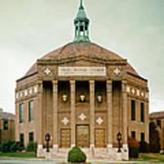 First Baptist Church Of Asheville North Carolina Art Print