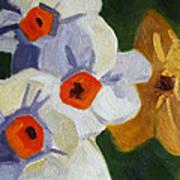 First Blooms Art Print