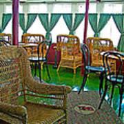 First Class Lounge In S S Klondike On Yukon River In Whitehorse-yt Art Print