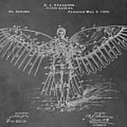First Flying Machine Art Print