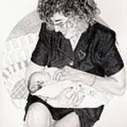 First Granddaughter Art Print