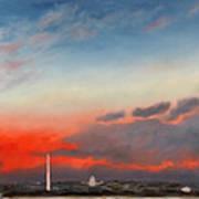 Obama Inaugural Sunrise 2 Art Print