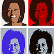 First Lady Print by Robert  Suggs