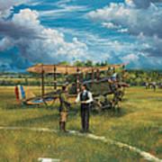 First Landing At Shepherd's Field Art Print