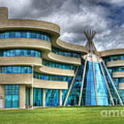 First Nations University Of Canada Art Print
