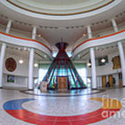 First Nations University Of Canada Interior Art Print