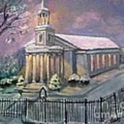 First Parish Church Art Print