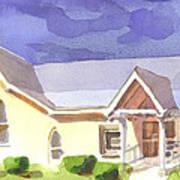 First Presbyterian Church II Ironton Missouri Art Print