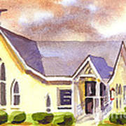 First Presbyterian Church Ironton Missouri Art Print