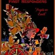 First Responders - Angels On Earth Art Print