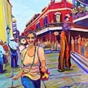 First Trip To New Orleans Art Print
