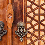 Firuz Aga Mosque Door 01 Art Print