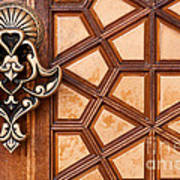 Firuz Aga Mosque Door 03 Art Print
