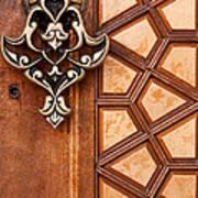 Firuz Aga Mosque Door 04 Art Print