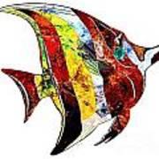 Fish 505-11-13 Marucii Art Print