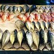 Fish For Sale In Taiwan Art Print