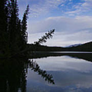 Fish Lake At Nordegg 05 Art Print