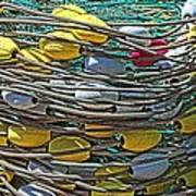 Fish Net Hdr Art Print