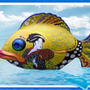 Fish Of The Orient Art Print