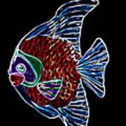 Fish Tales Art Print