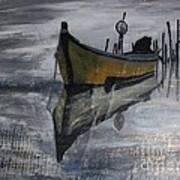 Fishboat Art Print