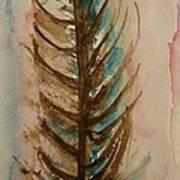 Fishbone Or Feather Art Print