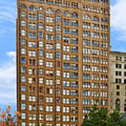 Fisher Building - A Neo-gothic Chicago Landmark Art Print
