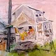 Fisher House 2 Art Print