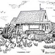 Fisherman's Cove Manasquan Nj Art Print by Melinda Saminski