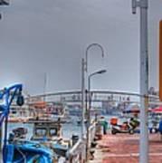 Fisherman's Wharf Taiwan Art Print