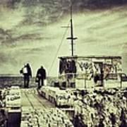 Fishermen Art Print