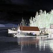 Fishing Boat Dock - Ketchican - Alaska - Photopower 01 Art Print