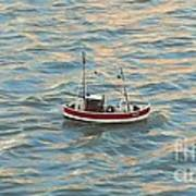 Fishing Boat Jean Art Print