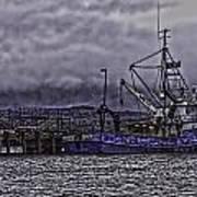 Fishing Boat09 Art Print