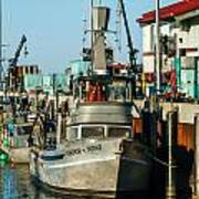 Fishing Boats In Nome Art Print