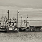 Fishing Boats - Wildwood New Jersey Art Print