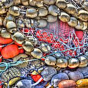 Fishing Bouys Art Print