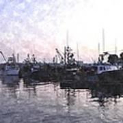 Fishing Fleet Ffwc Art Print