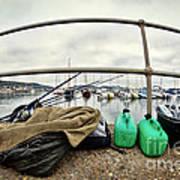 Fishing Gear Art Print