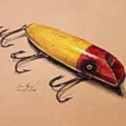 Fishing Lure Art Print