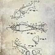 Fishing Lure Patent 1959 Art Print